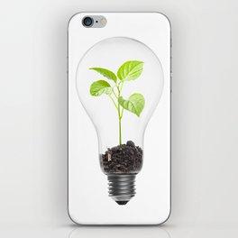 Green energy iPhone Skin