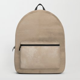 Burst of Color Pantone Hazelnut Abstract Watercolor Blend Backpack