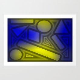 Dimmed light Art Print