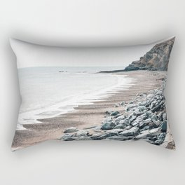 Welsh coast Rectangular Pillow