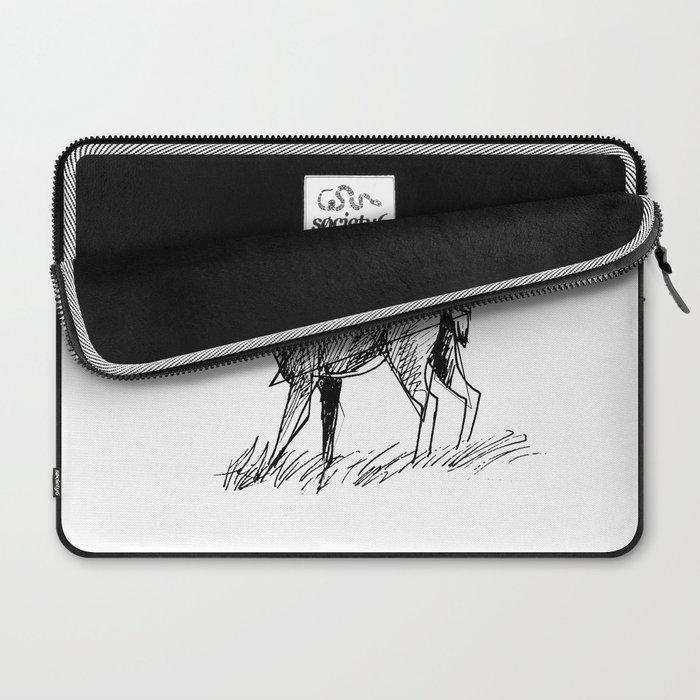 Modern deer Laptop Sleeve