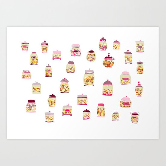 Cookie Jar Art Print