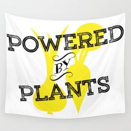 Powered By Plants Wall Tapestry