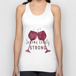Sonoma County Strong Unisex Tank Top