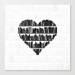 Book Lover II Canvas Print