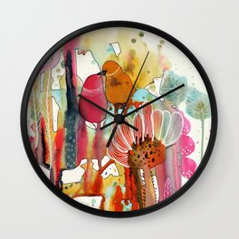 cheek to cheek Wall Clock