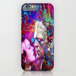 Frankenstein`s Bride iPhone Case