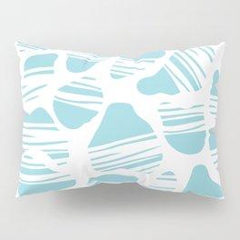 Okapi Animal Print [Island Blue] Pillow Sham