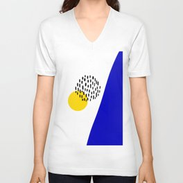 Abstract 004 Unisex V-Neck