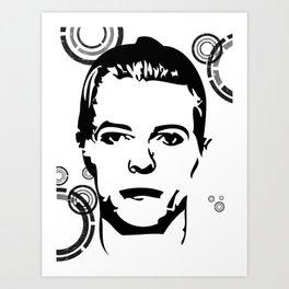Thin White Duke Art Print