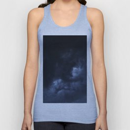 Evening Thunderstorms Unisex Tank Top