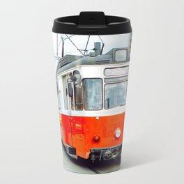Tramway in Istanbul Metal Travel Mug