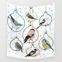 Garden Birds Wall Tapestry