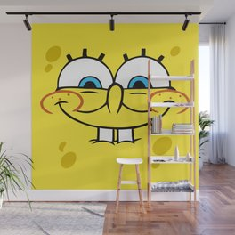 Spongebob Naughty Face Wall Mural