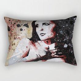 Safran Troublant Rectangular Pillow