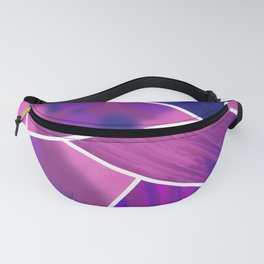 Pink to Blue Fanny Pack