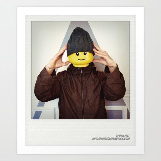 Minifig me ! – Everyone has a LEGO piece inside - 6 Art Print