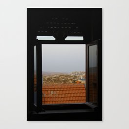 over jerusalem Canvas Print