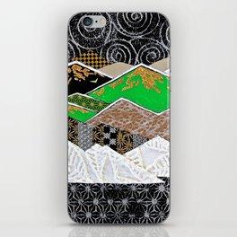 Rocky Mountains Wild (Green) - Landscape iPhone Skin