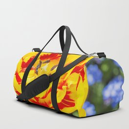 Floral Patterns. Duffle Bag