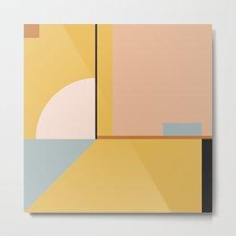 geometric abstract 24 Metal Print