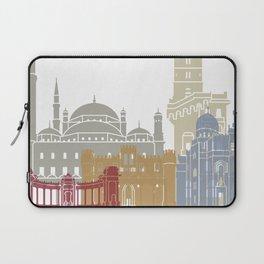 Alexandria skyline poster Laptop Sleeve
