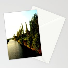 Thompson River @ Twilight Stationery Cards