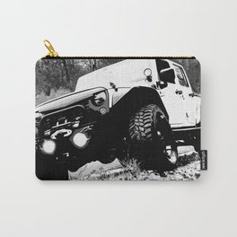 Beefy GP in Black and White Carry-All Pouch