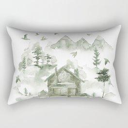 Living Off The Grid Rectangular Pillow