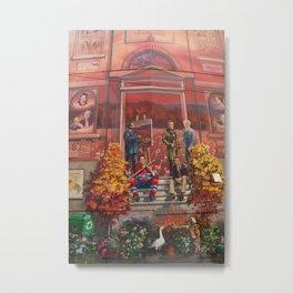 Art à Victoriaville - Très belle #fresque Metal Print