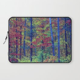 Forest - with exaggerated colors Laptop Sleeve