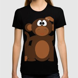 Caartoon Cute Monkey T-shirt