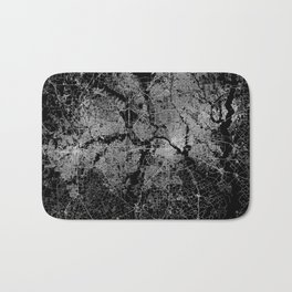 Dallas map Texas Bath Mat