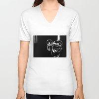 medicine V-neck T-shirts featuring Medicine  by Kelly Baskin