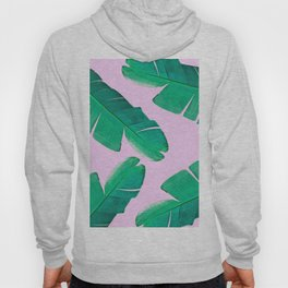 Banana Palm, muck and teal Hoody