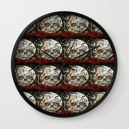 TYME WAITS FOR NONE Wall Clock