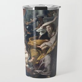 Milan - paint of Massacre of the Innocents from San Eustorgio church Travel Mug