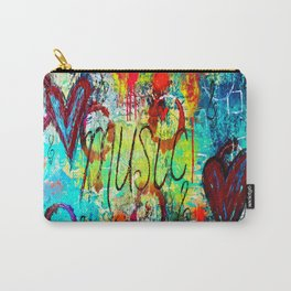 Graffiti Music Carry-All Pouch