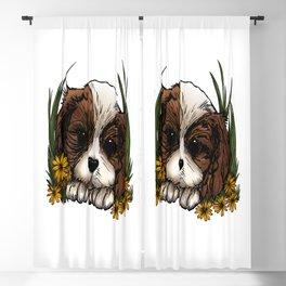 Puppy Blackout Curtain