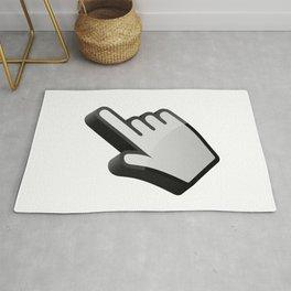 3D cursor (hand) Rug