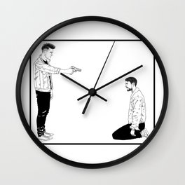 Send My Regards to Hell Wall Clock