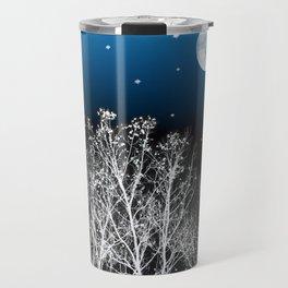 White Woods Moon Travel Mug