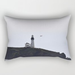 Yaquina Head/ Coast Guard Rectangular Pillow