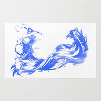 final fantasy Area & Throw Rugs featuring FINAL FANTASY X  by DrakenStuff+