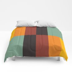 Stripes and swatches Comforters