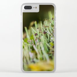micro forest Clear iPhone Case