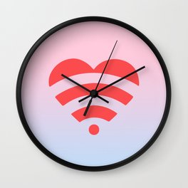 Wireless Love Wall Clock