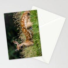 Fallow deer doe Stationery Cards