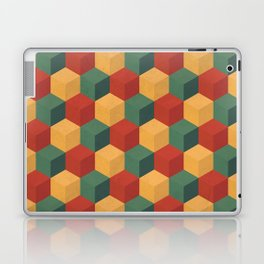 Retro Cubic Laptop & iPad Skin
