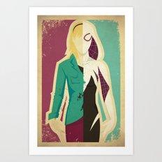 Spider Gwen Art Print